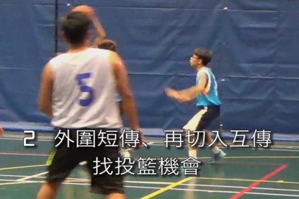 很有耐性傳找最好投籃機會4