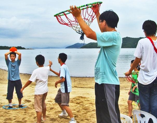 46-康體籃球-沙灘